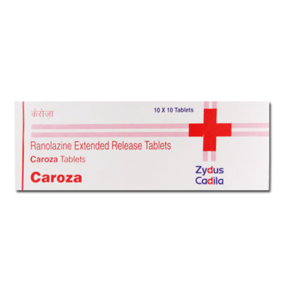 Buy Caroza 500mg - Ranolazine Extended Release Tablets