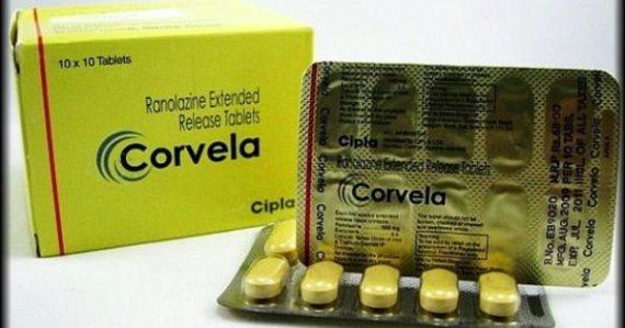 buy Corvela 500mg - Ranolazine Extended Release Tablets