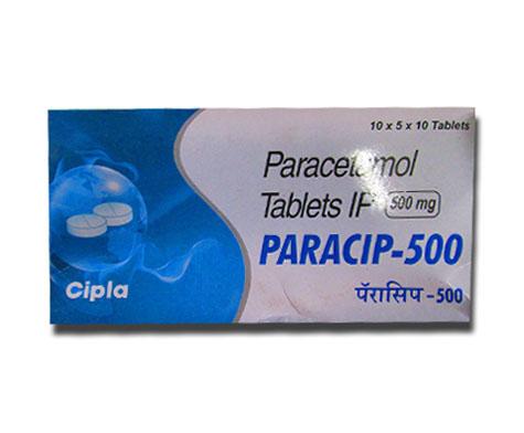 Buy Paracip 500mg - Paracetamol