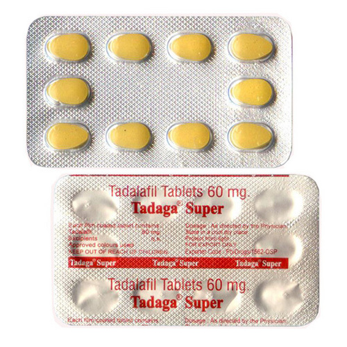 Buy Tadaga Super 60mg Tablets - Tadalafil