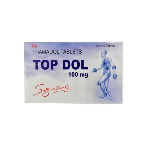 Topdol 100mg Tablets - Top Dol - Tramadol